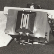 Close up of Dual Inline Package (DIP) Head